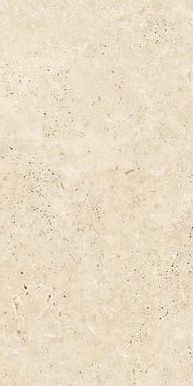 Feinsteinzeug Bodenfliese Travertine Beige Matt R11 45x90x2cm